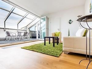 private Ferienwohnung Wien mit 3 Schlafzimmer und Dachterrasse ...